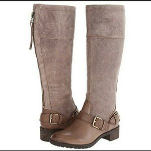 Naturalizer MacNair Wide Shaft Leather Riding Boot